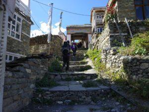 Khangsar Village