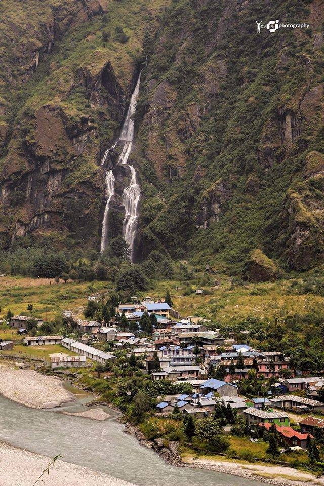 Tal Village on the way to Manang