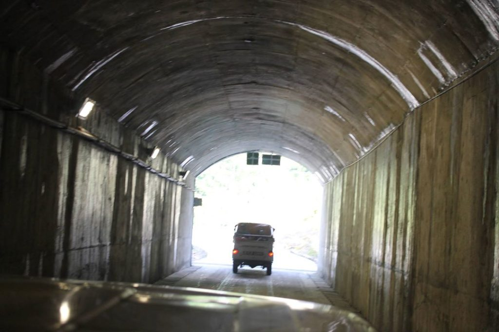Nepal's First Tunnel Way