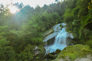 waterfall in between surmuche to kyalche