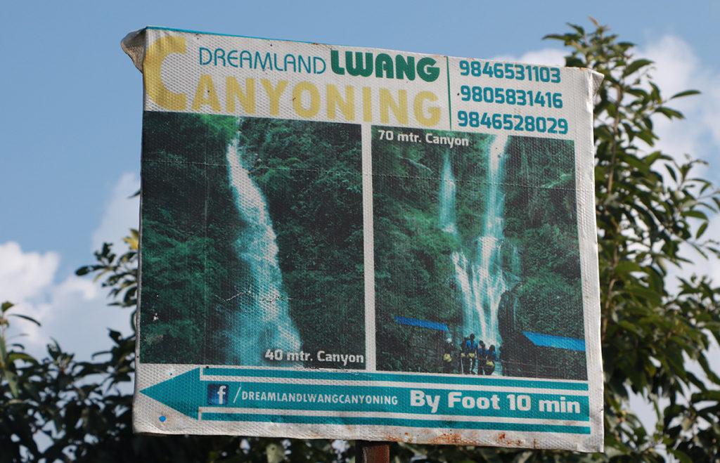 Canyoning in lwang